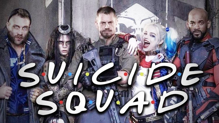 FRIENDS Theme Song Recut With SUICIDE SQUAD Footage