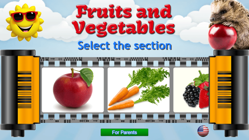 7_Fruits and Vegetables application