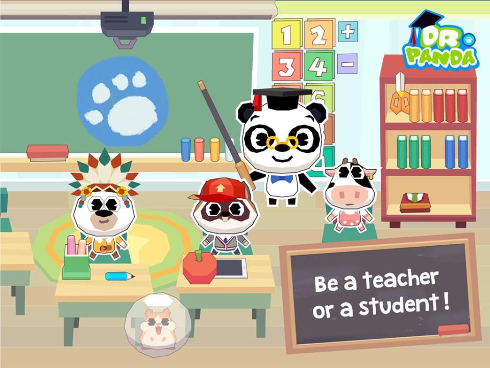 9_Dr. Panda School application