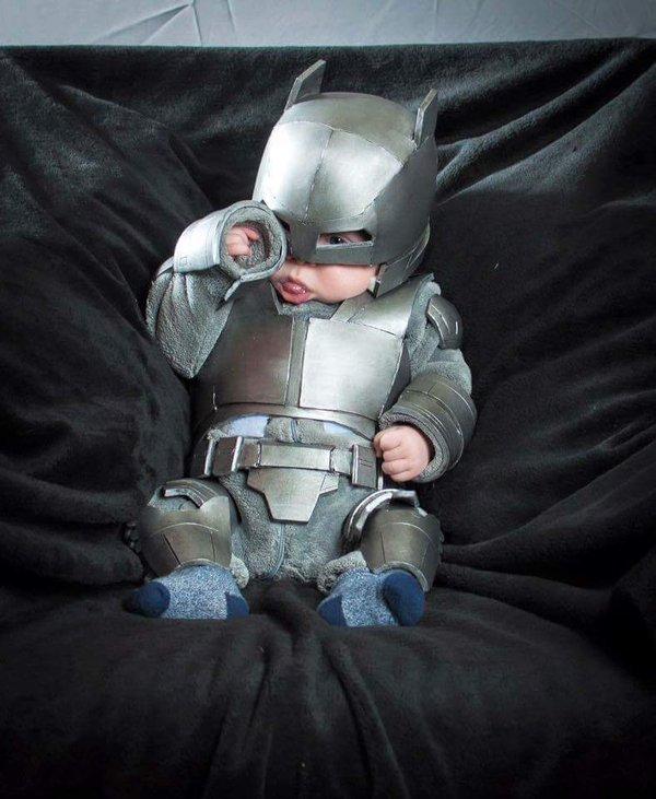 Armor Batman Baby Cosplay