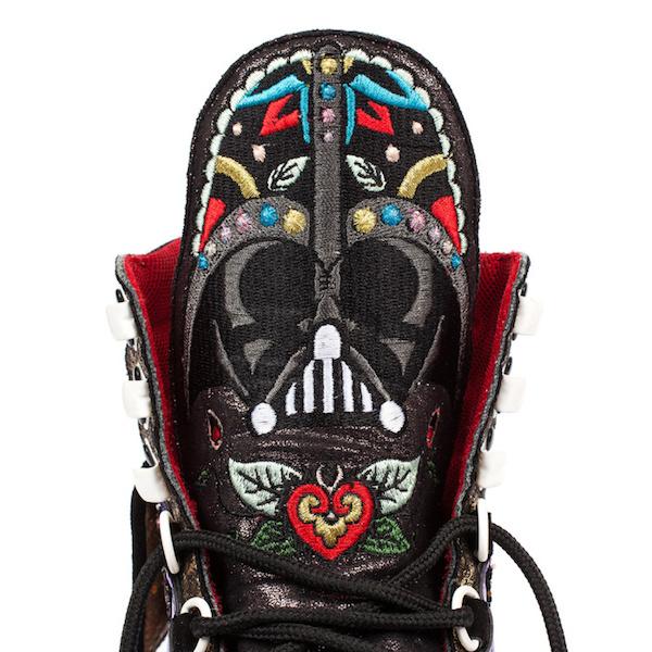 Darth Vader-Themed Shoes.