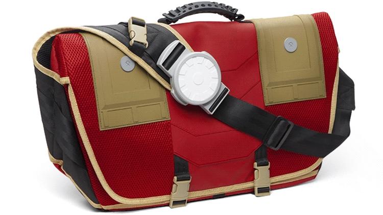 Stark Industries Messenger Bag With Arc Reactor (5)