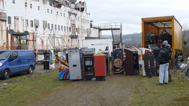50 Classic Arcade Games Saved From The Hold Of Abandoned Ship