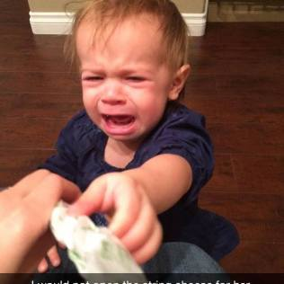 Kids With The Cutest Reasons To Cry