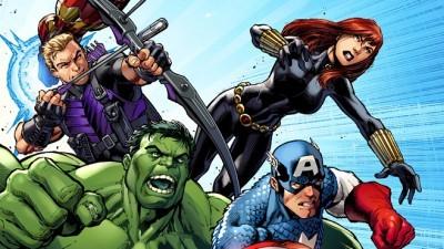 Superheroes Logo Evolution