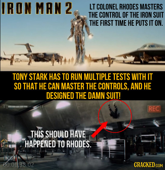 Skills Movie Characters Gain Out Of Nowhere in Seconds