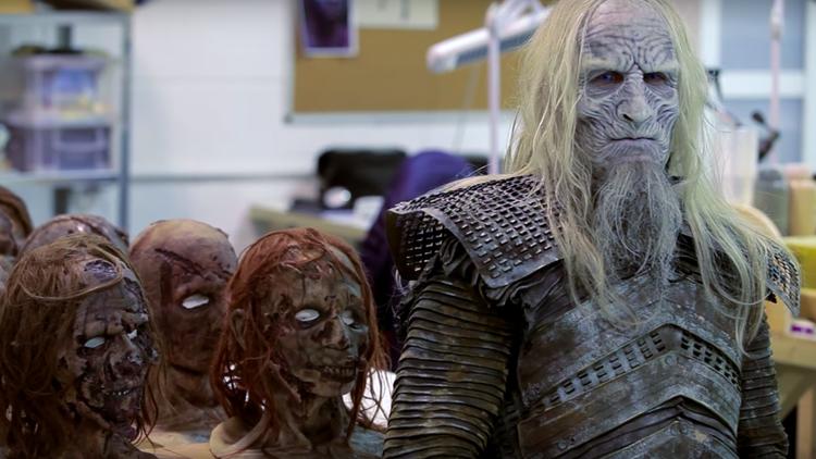 GAME OF THRONES White Walker Makeup