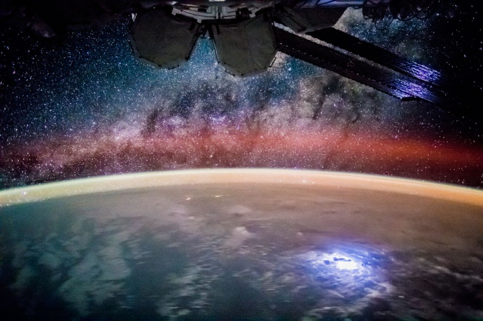 Stargazing from the International Space Station