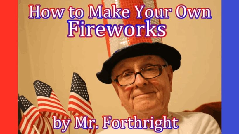 How to Make Your Own Fireworks