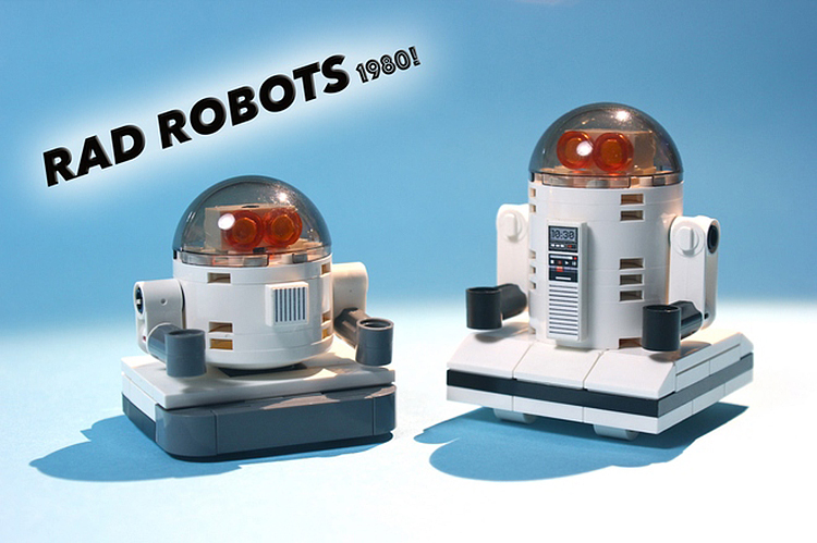 Breakdance Battle Between Two Very Cute Robots