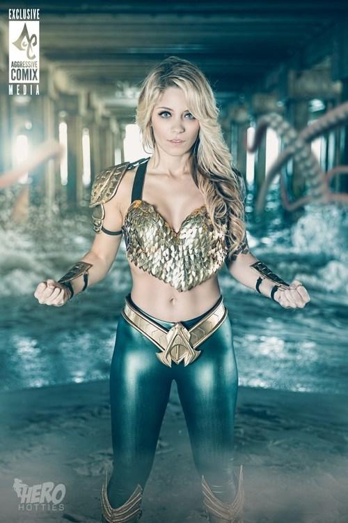 Gorgoues Cosplay for Queen of Atlantis (2)