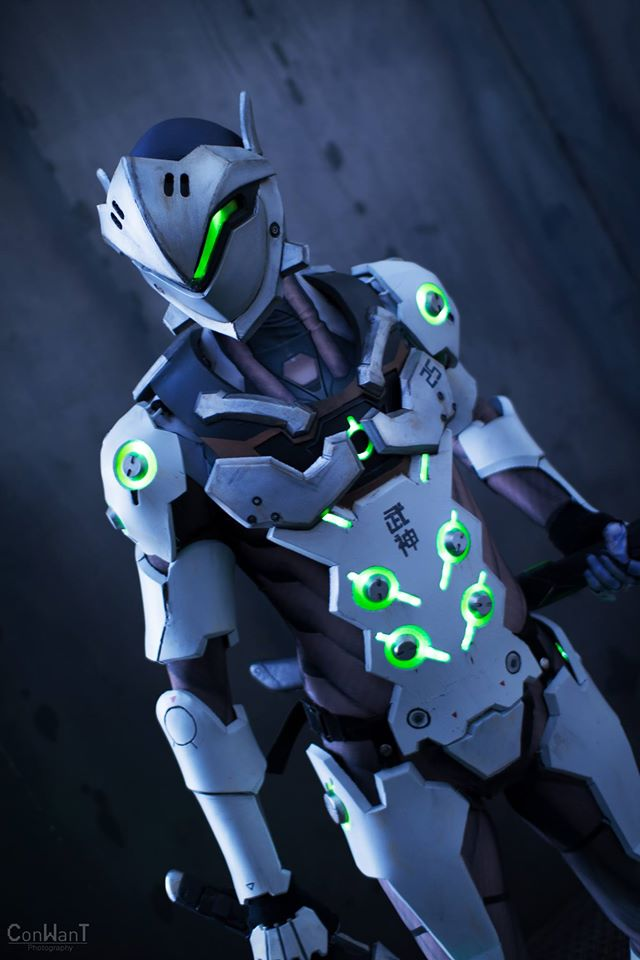 OVERWATCH-Inspired Genji Cosplay  (1)