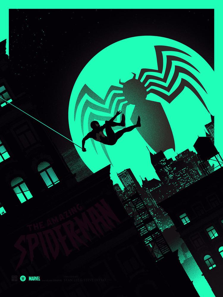 AMAZING SPIDER-MAN Art Print