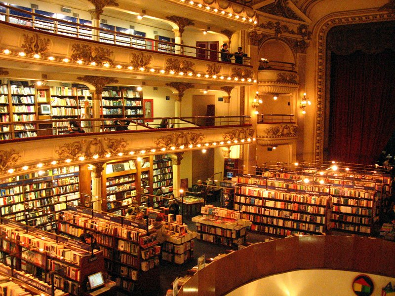 Theatre Turned Into a Bookstore in Buenos Aires (3)