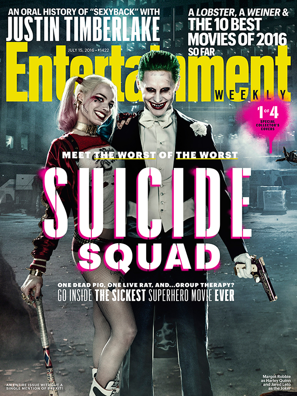 SUICIDE SQUAD ew covers