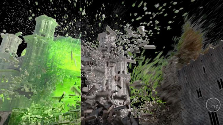 VFX Reel For GAME OF THRONES' Season 6 Finale