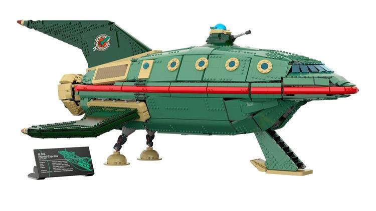 LEGO FUTURAMA Planet Express Ship