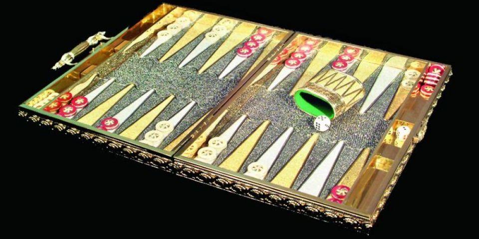 Charles Hollander Backgammon Set