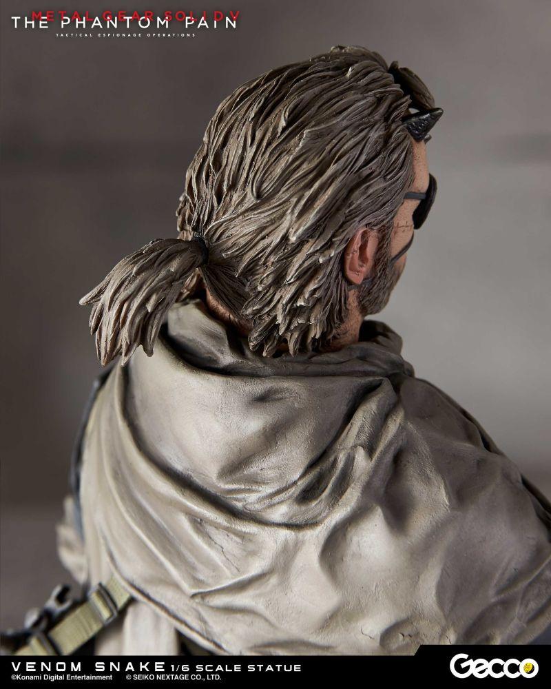 Metal Gear Solid V's Venom Snake Statue