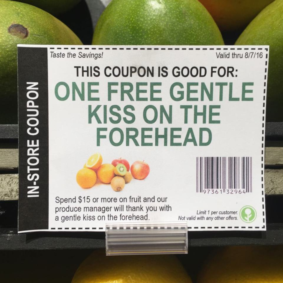 Hilarious Fake In-Store Coupons