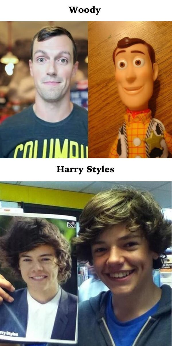 Celebrities Look Alike
