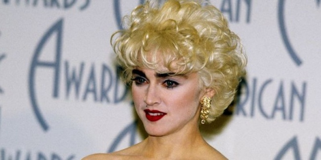 Madonna back in the 1980s.