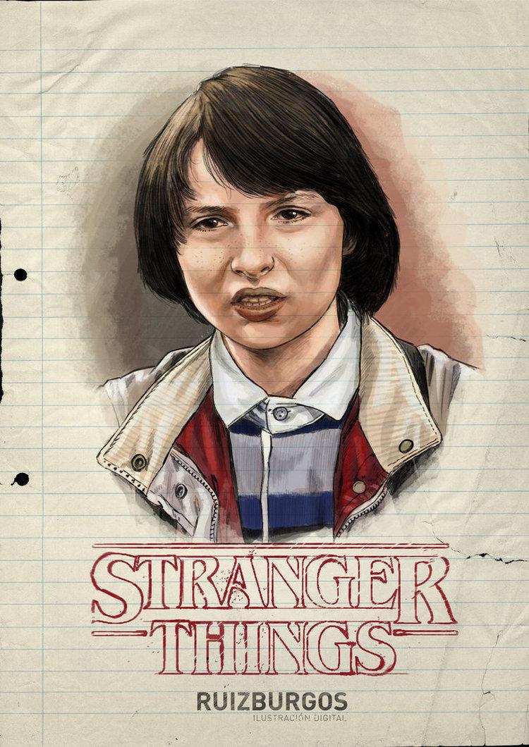 STRANGER THINGS Retro Character Portraits (5)