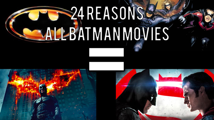 Why Batman Movies Are The Same