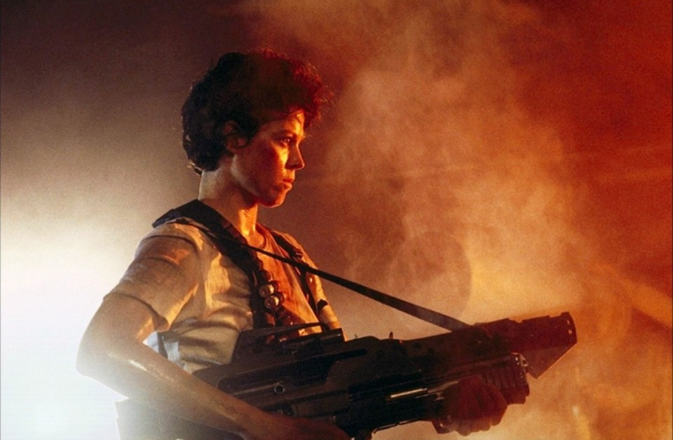 Ripley in the Alien films