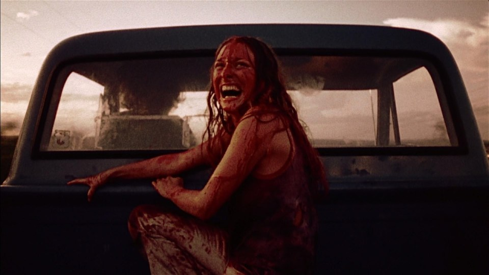 Sally in The Texas Chain Saw Massacre