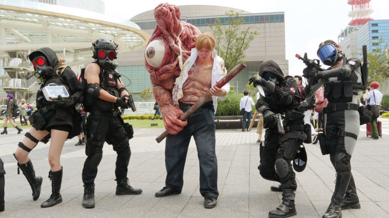 Resident Evil Cosplay Of 2016