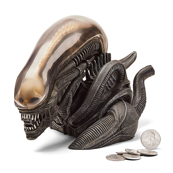Alien Xenomorph Vinyl Coin Bank