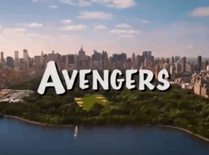 Avengers as a '90s TV Show