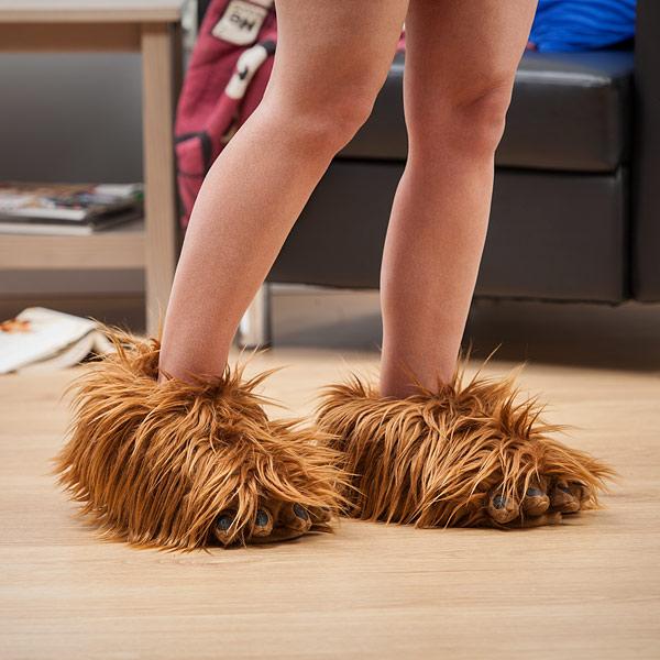 Chewbacca Inspired Slippers