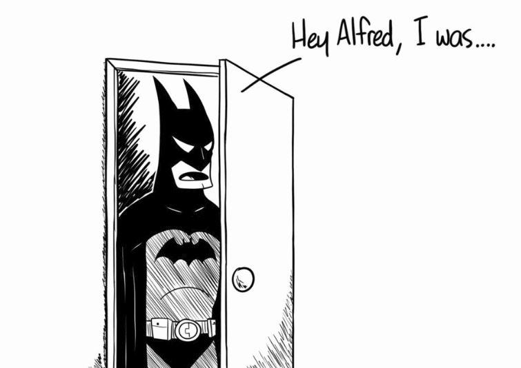 Batman Found Out Alfred's Secret Shame