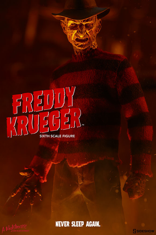 Freddy Krueger Sideshow Collectibles Action Figure