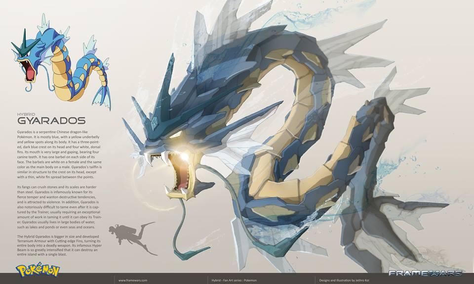 Pokemon Characters Get a Metal-Armor in Fan Art