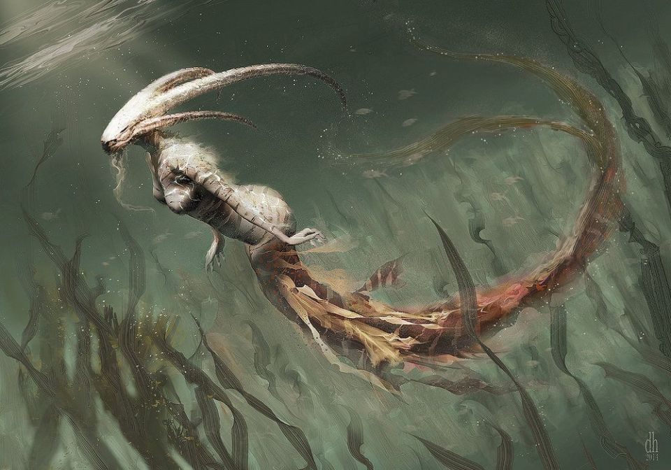 Zodiac Signs Reimagined as Horrifying Creatures
