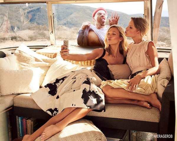 Celebrity Portraits Photoshopped