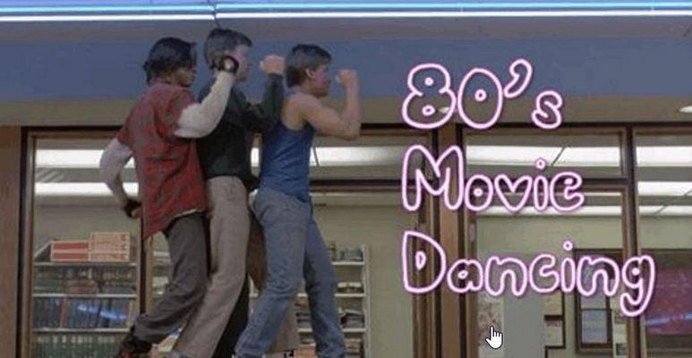80s Movies+dance
