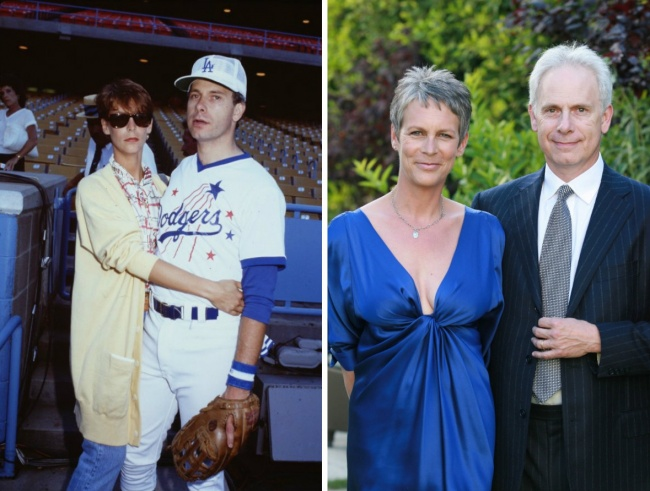 Jaime Lee Curtis and Christopher Guest