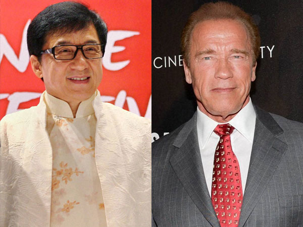 Arnold Schwarzenegger Jackie Chan