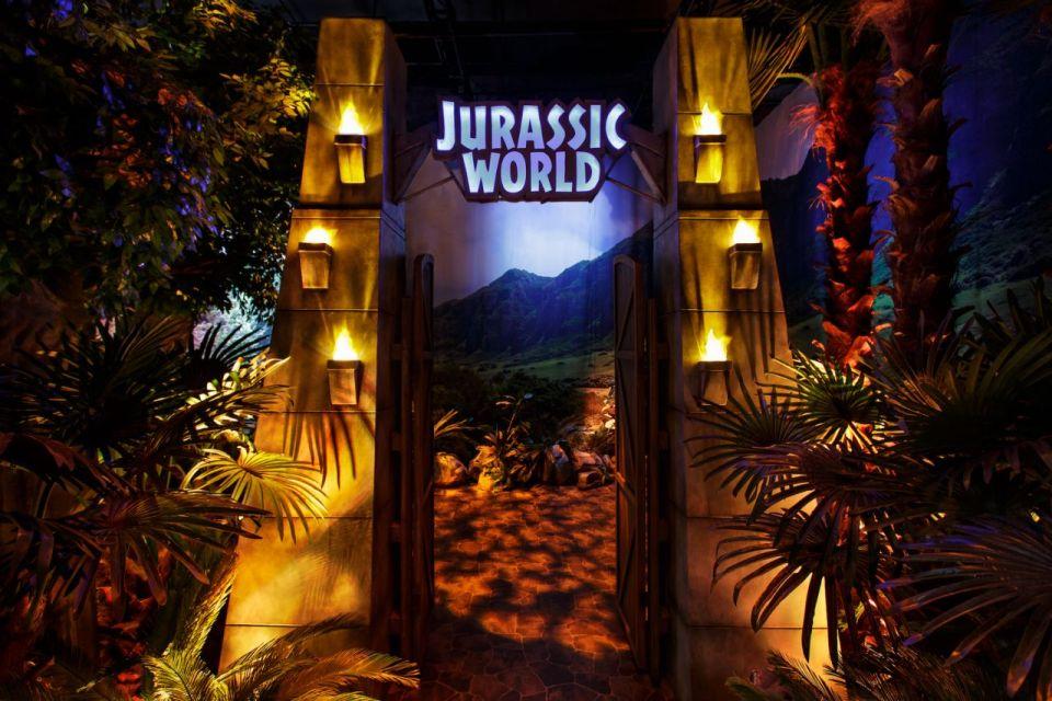 Real Jurassic World Exhibit