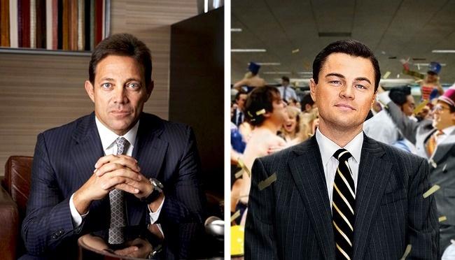 """The Wolf of Wall Street"" — stockbroker Jordan Belfort"