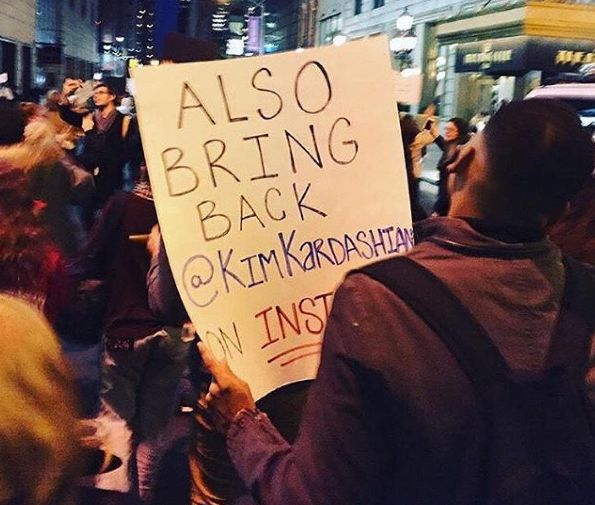 Hilarious Signs From Trump Protests