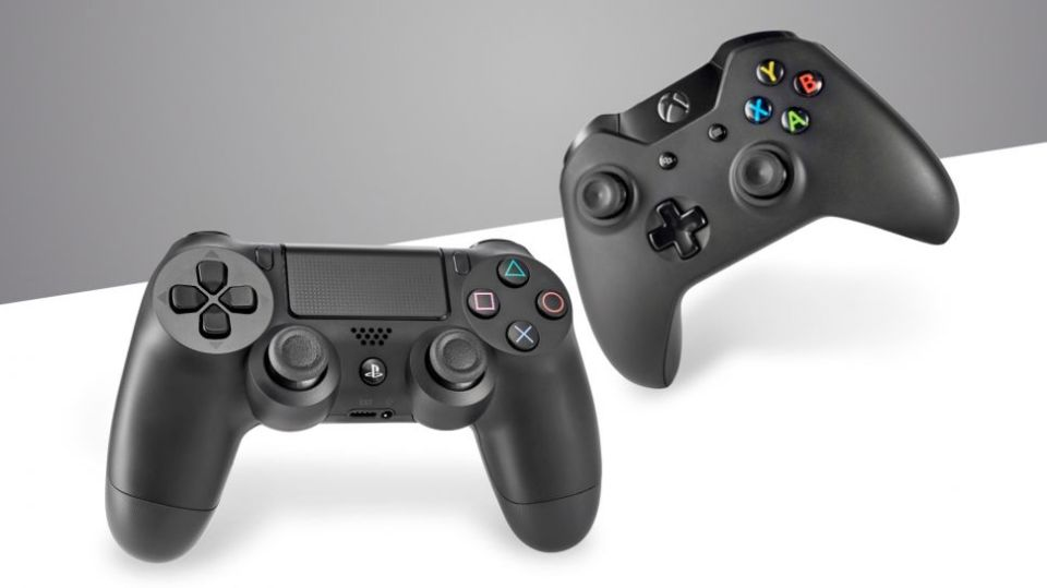 ps4-and-xbox-one-controllers