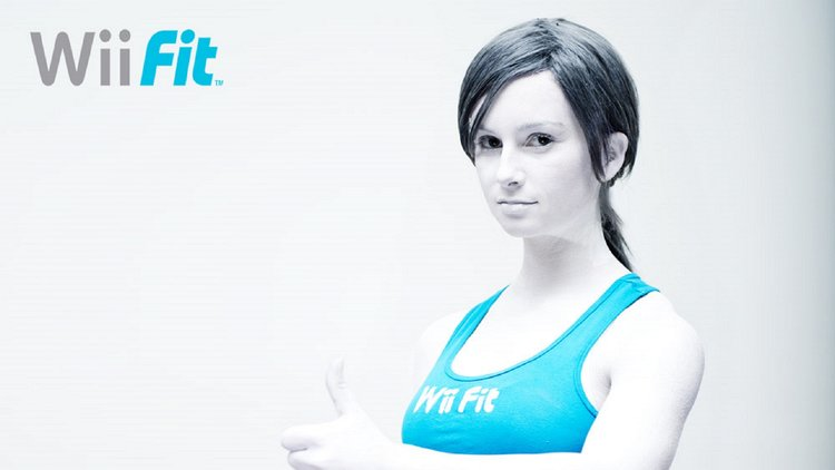 Wii-Fit Trainer Cosplay
