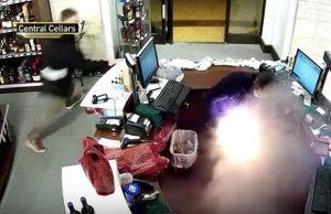 E-Cigarette Explode