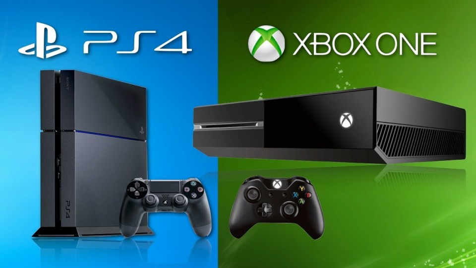 xbox one+ps4