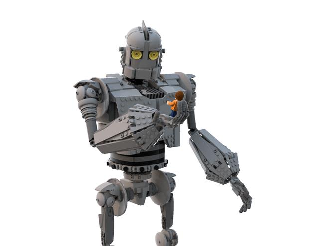 IRON GIANT LEGO Playset